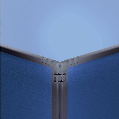 Filz-Raumteiler - Rahmen schiefergrau