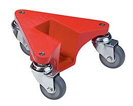 Transportrolly im handlichen Kunststoffkoffer - aus Aluminium, für Lasten mit Beinen