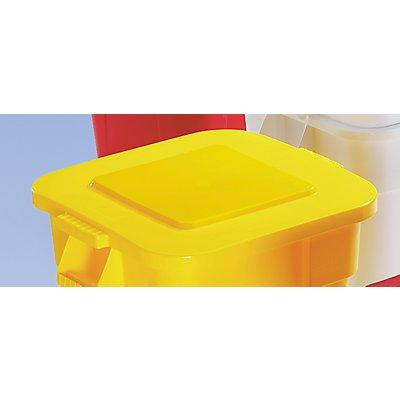 Deckel, quadratisch - Schnappverschluss, für 151-Behälterinhalt