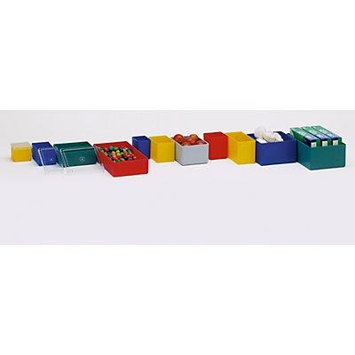 Bacs pour petites pièces - hauteur 54 mm