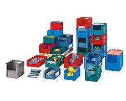 Euro-Stapelbehälter - Inhalt 29 l, Außen-LxBxH 400 x 300 x 320 mm, VE 4 Stk