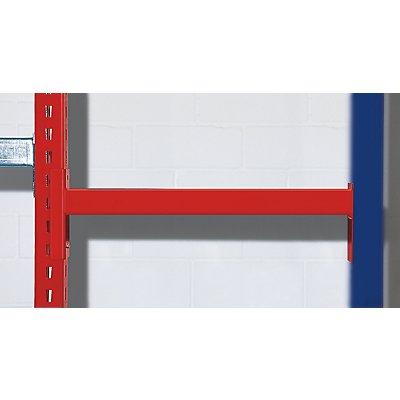 Großfachregal, farbig - HxT 2510 x 600 mm
