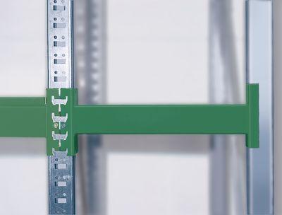 Weitspann-Großfachregal - Feldlast max. 4000 kg, HxBxT 2000 x 2700 x 1100 mm