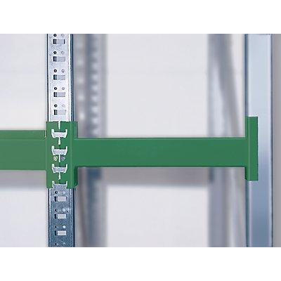 Weitspann-Großfachregal - Feldlast max. 4000 kg, HxBxT 2000 x 2700 x 600 mm