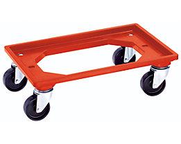 Transportwagen - LxB 600 x 400 mm - mit 4 Lenkrollen