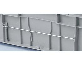 Etikettenhalter - Haltebügel waagrecht, VE 10 Stk - für Profi-Ausführung