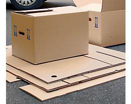 Umzugskarton, FEFCO 0201 - aus 2-welliger Pappe
