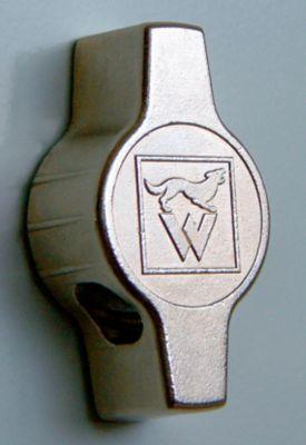 Wolf Stahlspind mit Stollenfüßen, Abteile schrankhoch - Vollwandtüren, Abteilbreite 600 mm