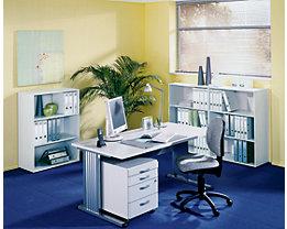 BASIC-II Bureau à piétement en L - largeur 800 mm