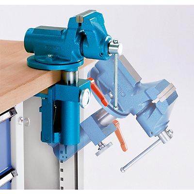 ANKE Montagewerkbank - fahrbar, mit 1 Schublade und Schraubstock - Breite 1270 mm