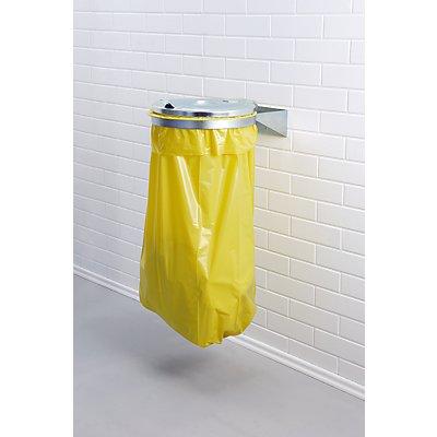 Support sacs-poubelle pour sac de 120 l - support mural