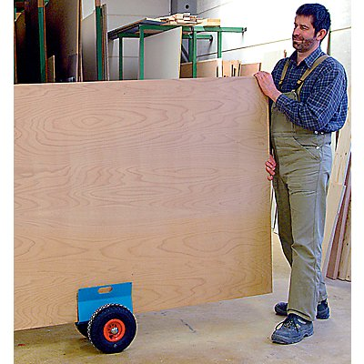 LAREN Plattenroller Tragfähigkeit 250 kg - Luftreifen