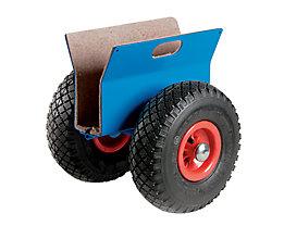 Plattenroller Tragfähigkeit 250 kg - Luftreifen