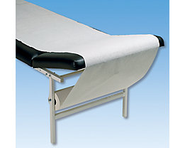 ruheraumliege kopfteil verstellbar bezug schwarz gestell wei. Black Bedroom Furniture Sets. Home Design Ideas