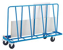 EUROKRAFT Platten-Transportwagen - einseitige Ausführung