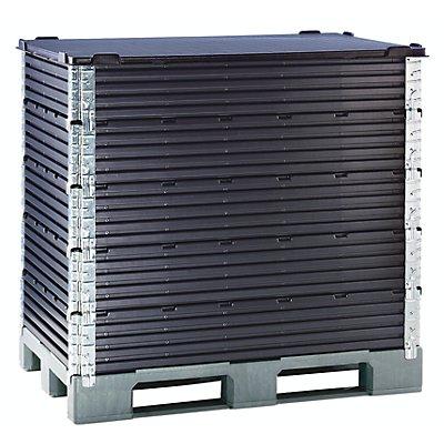 Kunststoffaufsatzrahmen, VE 2 Stk - für Euro-Palette 1200 x 800 mm