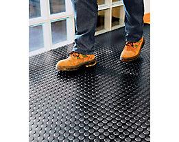 Tapis de sol en caoutchouc - au mètre lin., largeur 1200 mm