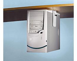 Twinco Support pour unité centrale à monter sous le plateau - charge max. 40 kg