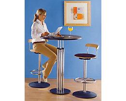 Bistrotisch mit pflegeleichter Tischplatte bei Certeo