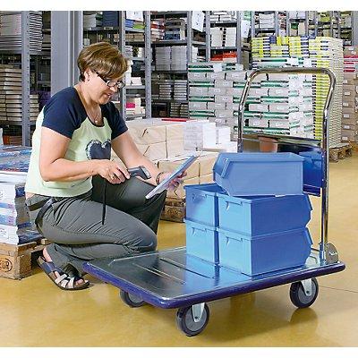 Verzinkter Plattformwagen - Tragfähigkeit 300 kg, ab 2 Stk