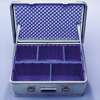 ZARGES Trennwand-Set - aus Schaumstoff - mit 1 Längsteiler und 3 Querteilern