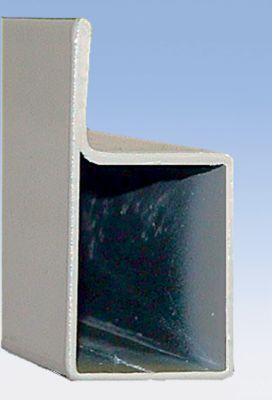 Auflageträger für Stützrahmen, Schwerlastregal - Nasen-Rohr, Profil 70 x 30 mm