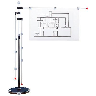 Presenter - Mobil-Presenter mit 3 Schwenkarmen - Höhenverstellbereich 1400 bis 2000 mm
