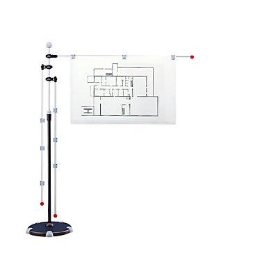 Maul Presenter - Mobil-Presenter mit 3 Schwenkarmen - Höhenverstellbereich 1400 bis 2000 mm