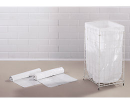 Abfallsäcke - Inhalt 65 l - LxBxH 365 x 245 x 850 mm, PE-LD, weiß, VE 360 Stk