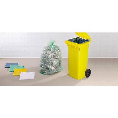 Abfallsäcke aus Polyethylen - Inhalt 80 l - LxBxH 500 x 450 x 900 mm, blau, VE 150 Stk
