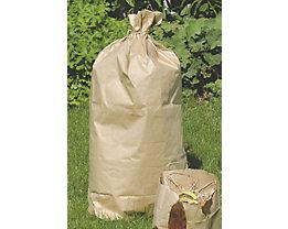 Sacs-poubelle - en papier - capacité 120 l, lot de 250