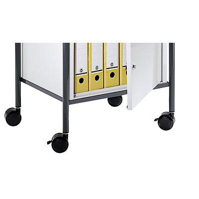 Rollensatz - für Werkstattwagen - 4 Kunststoff-Lenkrollen