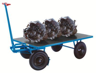 EUROKRAFT Handpritschenwagen - Tragfähigkeit 1000 kg