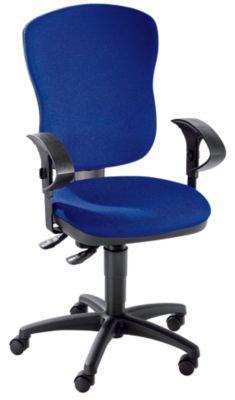 Standard-Drehstuhl - ohne Armlehnen, mit Lendenwirbelstütze -