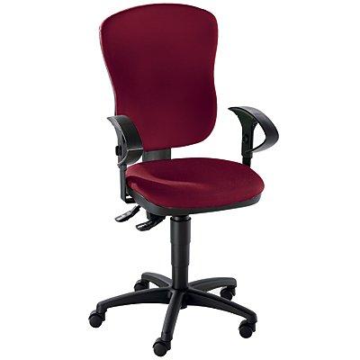 Topstar Standard-Drehstuhl - ohne Armlehnen, mit Lendenwirbelstütze