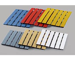 PVC-Profilmatte, pro lfd. m - Lauffläche aus Hart-PVC, rutschsicher
