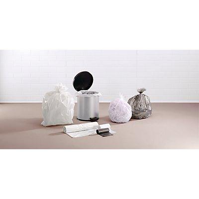 Kunststoffsäcke - Mülleimer-Beutel - Inhalt 30 l, BxH 540 x 580 mm, transparent, VE 2000 Stk