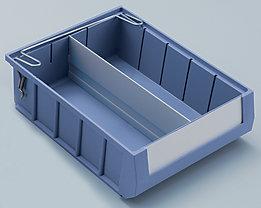 mauser Fachteiler - Längsteiler - für LxH 300 x 90 mm, VE 10 Stk