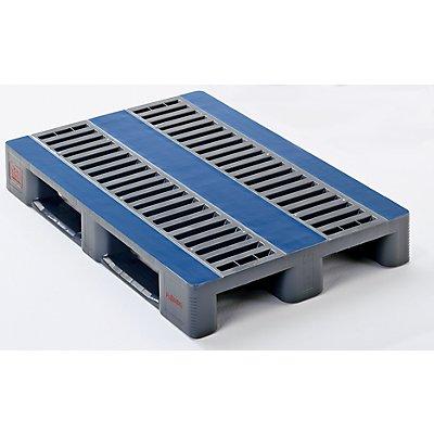 Schwerlastpalette, Hochdruck-Polyethylen - Breite 800 mm