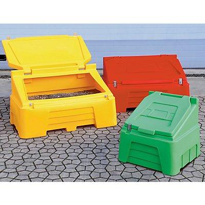 Kunststoffbehälter mit Klappdeckel - Inhalt 200 Liter