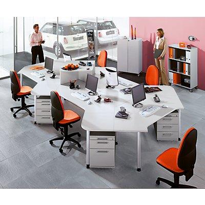 Hammerbacher CALL-TEAM Schreibtischaufsatz - zum Aufsetzen auf Tische