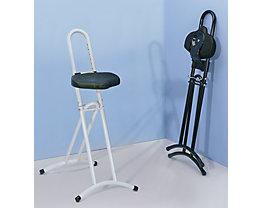 Assis-debout à assise pivotante - hauteur réglable de 610 à 860 mm