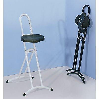 LOTZ Stehhilfe mit drehbarem Sitz - Höhenverstellbereich von 610 – 860 mm