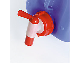 Robinet pour jerrycan - quantité min. commandée 5 pièces - boucle de fermeture 43 mm