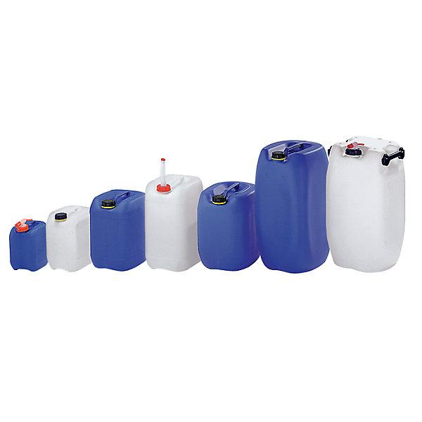 Image of 10 Liter Kanister - Polyethylen LxBxH 230 x 196 x 310 mm - blau ab 10 Stück