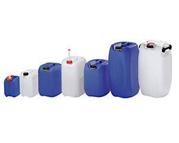10 Liter Kanister - Polyethylen, LxBxH 230 x 196 x 310 mm - natur, ab 5 Stück
