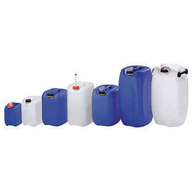 Duhme 60 Liter Kanister - Polyethylen, LxBxH 395 x 350 x 645 mm