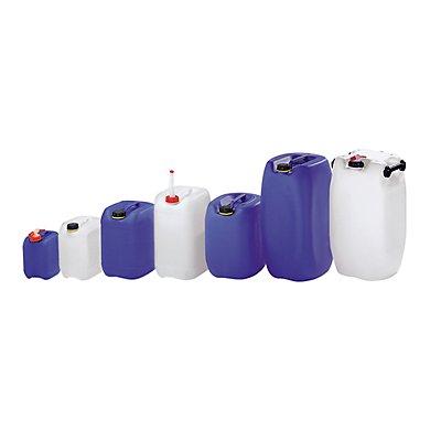 Bidon en polyéthylène - L x l x h 182 x 162 x 235 mm, capacité 5 l