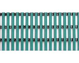 Nassraummatte, antibakteriell, pilzfeindlich - Nassraummatte, antibakteriell, pro lfd. m - Breite 800 mm, grün