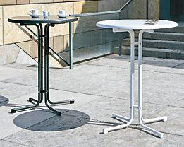 Stehtisch - Gestell aus Stahl, Sevelitplatte